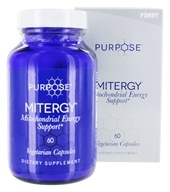 F1rst Nutrition - Purpose Mitergy Mitochondrial Energy Support