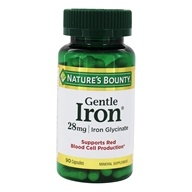 Nature's Bounty - Gentle Iron 28 mg. -