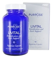 F1rst Nutrition - Purpose Livital - 90 Vegetarian