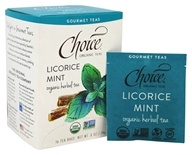 Choice Organic Teas - Gourmet Herbal Tea Licorice