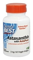 Doctor's Best - Astaxanthin with AstaPure 3 mg.