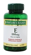 Nature's Bounty - Vitamin E 400 IU -