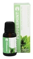 GuruNanda - 100% Pure Essential Oil Peppermint -