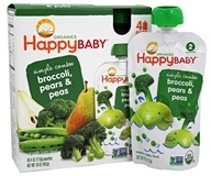 HappyFamily - Organic HappyBaby Simple Combos Pouches Broccoli,