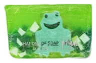 Primal Elements - Handmade Bar Soap Green Frog