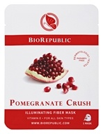 BioRepublic SkinCare - Illuminating Fiber Mask Pomegranate Crush
