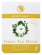 BioRepublic SkinCare - Purifying Fiber Mask Green Tea