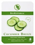 BioRepublic SkinCare - Soothing Fiber Mask Cucumber Breeze