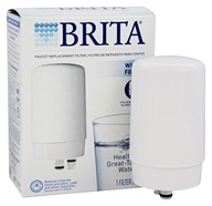 Brita - Faucet Replacement Filter White - 1
