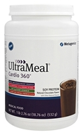 Metagenics - UltraMeal Cardio 360 Soy Protein Chocolate