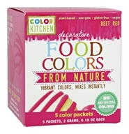 Decorative Food Colors From - 5 x 0.10 Color Packets
