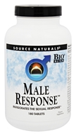 Source Naturals - Male Response - 180 Tablets