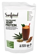 Sunfood Superfoods - Raw Organic Hemp Protein -