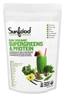 Sunfood Superfoods - Raw Organic Supergreens & Protein