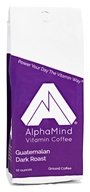 AlphaMind Vitamin Coffee - Dark Roast Ground Coffee