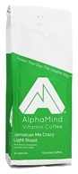 AlphaMind Vitamin Coffee - Light Roast Ground Coffee Jamaican Me Crazy - 12 oz.
