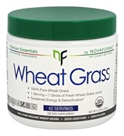NovaForme - Organic Wheat Grass Powder - 5.29 oz.