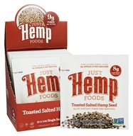 Just Hemp Foods - All Natural Toasted Salted