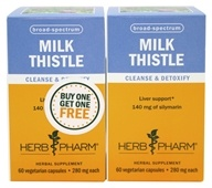 Milk Thistle Capsules Twin Pack