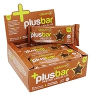 Greens Plus - +PlusBar Protein Bars Box Chocolate
