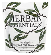 Herban Essentials - Towelettes Essential Oil Eucalyptus -
