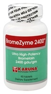 Karuna Nutrition - BromeZyme 2400 500 mg. -