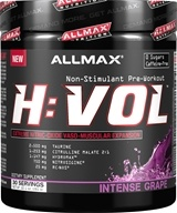 AllMax Nutrition - HVOL Hemanovol Pre-Workout Intense Grape