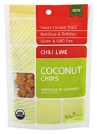 Navitas Naturals - Organic Coconut Chips Chili Lime