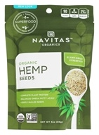 Navitas Naturals - Organic Shelled Hemp Seeds -