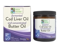 Green Pasture Products - Blue Ice Royal Butter Oil/Fermented Cod Liver Oil Blend Gel Cinnamon Tingle - 8.1 oz.