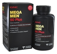 GNC - Mega Men 50 Plus Multi -