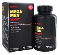 GNC - Mega Men Sport Multi - 180
