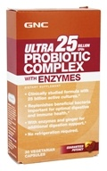 GNC - Ultra 25 Probiotic Complex with Enzymes
