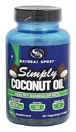 Natural Sport - Simply Coconut Oil - 60