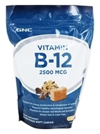 GNC - Vitamin B-12 Soft Chews Chocolate Chip
