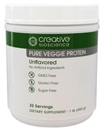 Creative BioScience - Pure Veggie Protein Unflavored -