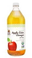 LuckyEats - Organic Raw Apple Cider Vinegar with Mother by LuckyVitamin - 32 fl. oz.