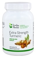 LuckyHerbs - Extra Strength Turmeric by LuckyVitamin 1050 mg. - 60 Caplets