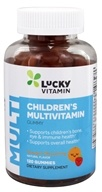 LuckyVitamin - Children's Multivitamin Gummy Orange & Strawberry - 120 Gummies