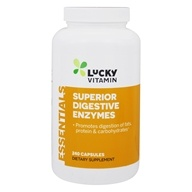 LuckyVitamin - Super Digestive Enzymes - 240 Capsules