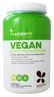 LuckyFit - Vegan Plant Protein Blend Chocolate - 2.43 lbs.