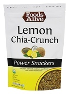 Foods Alive - Power Snackers Lemon Chia-Crunch -