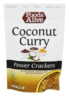 Foods Alive - Power Crackers Coconut Curry -