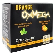 Orange OxiMega Greens/Fish Oil Kit