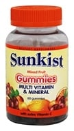 Sunkist - Multivitamin and Mineral Gummies Mixed Fruit