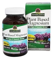 Nature's Answer - Plant Based Magnesium 500 mg.