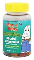 Treehouse Kids - Max and Ruby Multivitamin with Minerals Natural Fruit Flavors - 60 Gummies