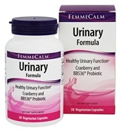 FemmeCalm - Urinary Formula - 50 Vegetable Capsule(s)