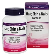 FemmeCalm - Hair, Skin, and Nails Formula -
