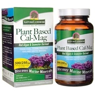Nature's Answer - Plant-Based Cal-Mag - 120 Vegetarian